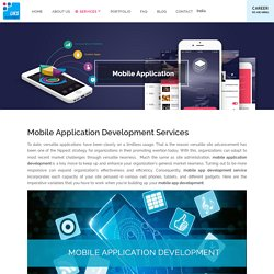 Mobile Apps Development Company,Application Development Services in Delhi.