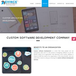 Custom Software & Application Development Company