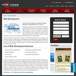 Tech Genuine - Globally Renowned Website Development Services
