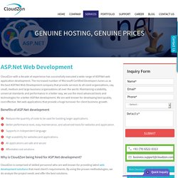 ASP.Net, ASP.Net Web, ASP.Net Web Application, .Net Web - Development