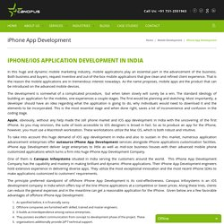 iOS Application Development India by Canopus Infosystems