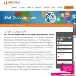 Are You Looking For DotNet Development Company For Your Business ?