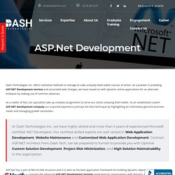 ASP.Net Development - Website & Mobile Application Development