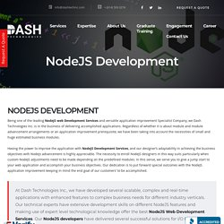 NodeJS Development - Website & Mobile Application Development