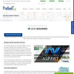 ASP.NET Web Development Company India, ASP.NET Web Application Development Services India