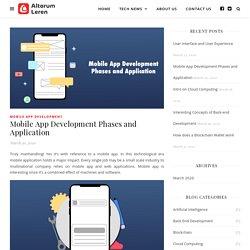 Mobile App Development Phases and Application - Altorum Leren
