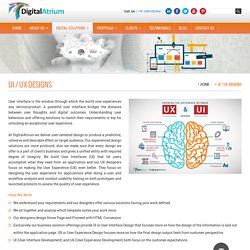 Mobile UI/UX Design solution Coimbatore, india