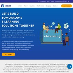 Best E-Learning Application Development Company in USA, India