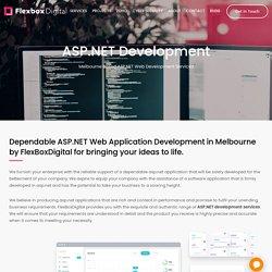 ASP.NET Web Development Company Melbourne
