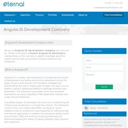 Hire Experts AngularJS Web Applications Developer