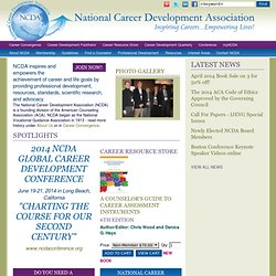 Welcome to the National Career Development Association