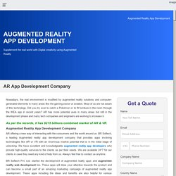 Augmented Reality Services Provider