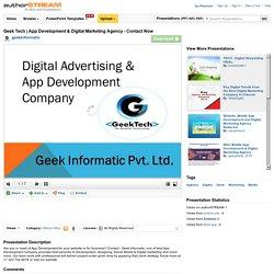 App Development & Digital Marketing Agency - Contact Now