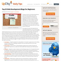 Top 25 Web Development Blogs For Beginners