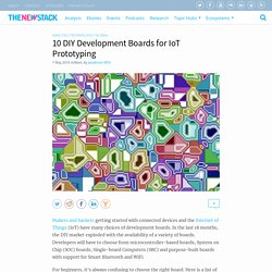 10 DIY Development Boards for IoT Prototyping