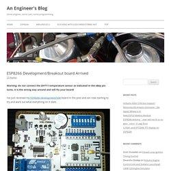 ESP8266 Development/Breakout board Arrived