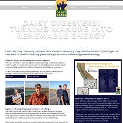 Dairy Digester Development in California