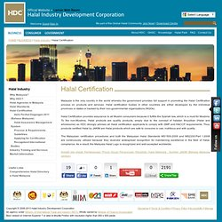 Halal Industry Development Corporation - Halal Certification