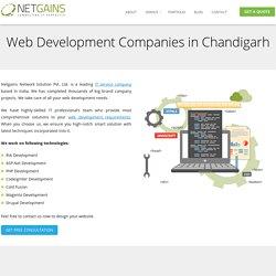 Web Development Companies in Chandigarh, India