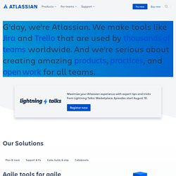 Atlassian - Software Development Tools and Collaboration Software