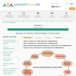 Chapter 2. Other Models for Promoting Community Health and Development