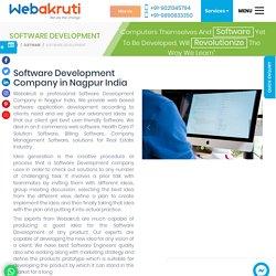 Software Development Companies in Nagpur – Software Solutions Webakruti