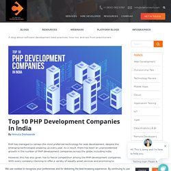 Top 10 PHP Development Companies In India