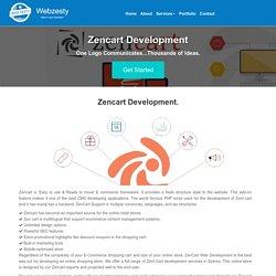 Best Zen cart Web Development Company in Australia