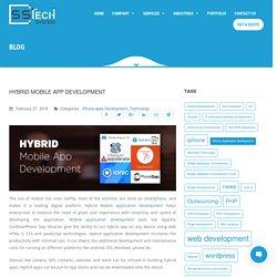 Hybrid Mobile App Development - Web & Mobile App Development Company Based in India & Australia – SSTECH SYSTEM