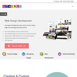 Web Design Development Company Dhaka Bangladesh
