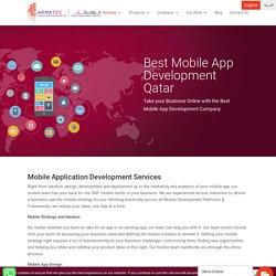 Best Mobile App Development Company in Qatar - Carmatec Qatar WLL