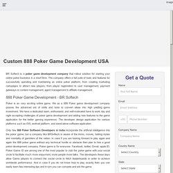 888 Poker Game Development Company India, Hire 888 poker developer USA
