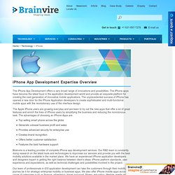 iPhone Application Development Services – iPhone Technology Experts