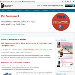 Expertise Custom Web Development Company