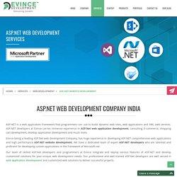 ASP.Net Web Development - ASP.Net Developer By Evince Development