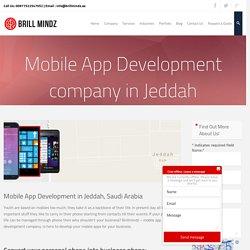 Best Mobile apps development company Jeddah