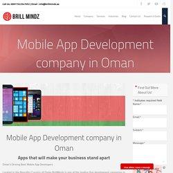 Mobile app development company in Oman