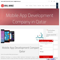 Best Mobile App Development Company in Qatar