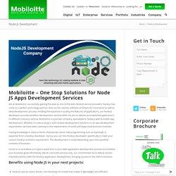 Top NodeJS Development Company