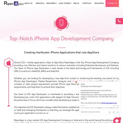 iPhone App Development Company USA - Top iOS App Developers