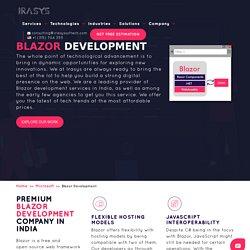 Blazor Development Company India