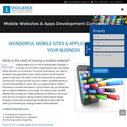 Mobile App Design & Development Company UAE - Digillence Rolson
