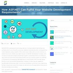 How ASP.NET Development Company Can Help in Effective Website Development?