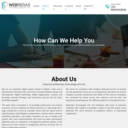 Best Web Design and Development Company in Kolkata