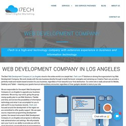 Web Development Company in Los Angeles