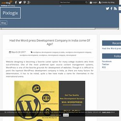 Choose WordPress Development Company as a Dependable Partner for Your Online Venture