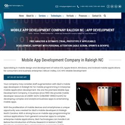Mobile App Development Company in Raleigh NC