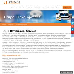 Drupal Website Development Services Company in UAE