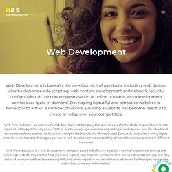 Web Development Company India, Best Website Development Services India