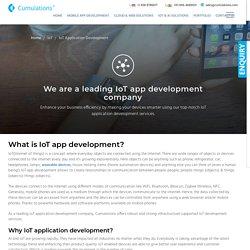 #1 IoT App Development Company